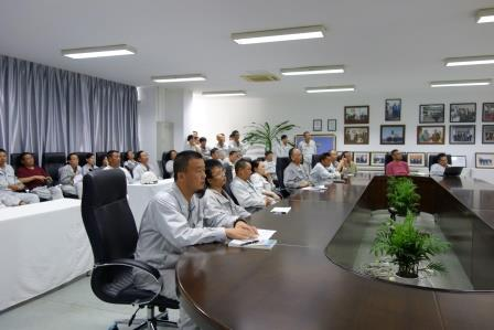 TSUNEISHI GROUP (ZHOUSHAN) SHIPBUILDING, Inc.: First QC initiative briefing held