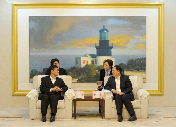增进合作、共谋发展———常石舟山董事长拜访舟山市长