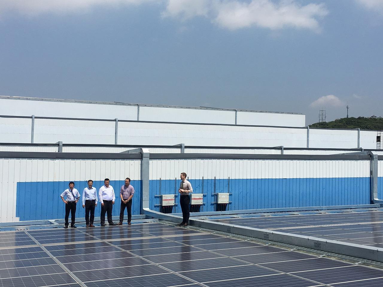 世界最大光伏建筑一体化电站