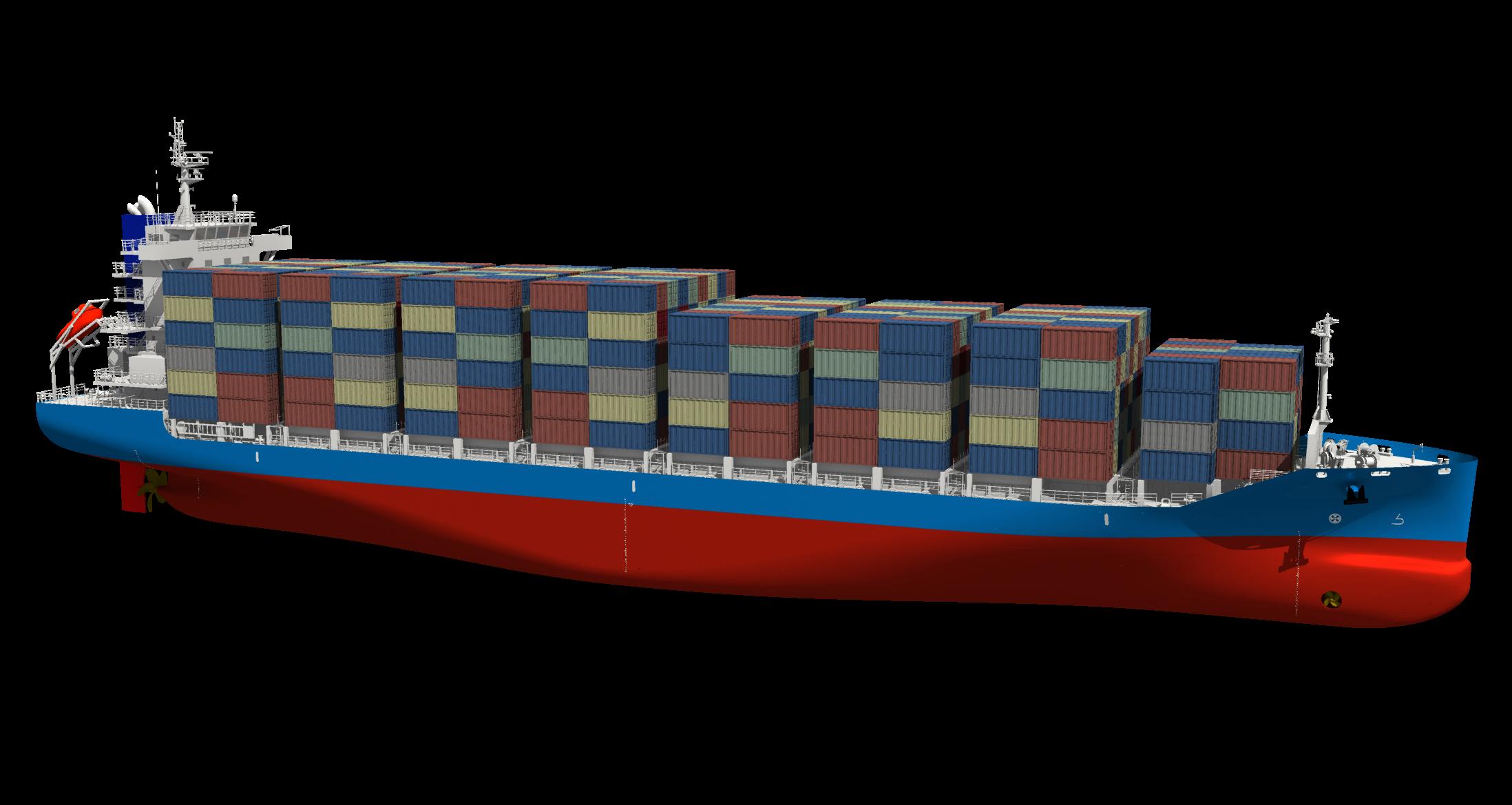 常石集团(舟山)造船获中国国营企业3艘新型1,091TEU集装箱船订单